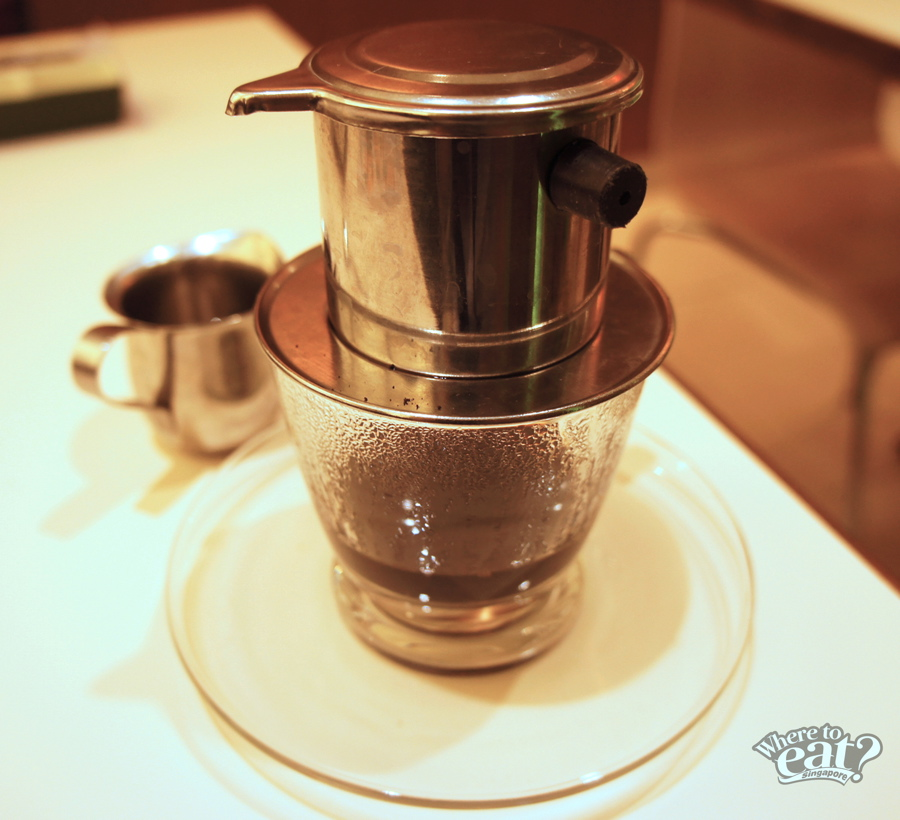 Vietnamese Dripping Coffee