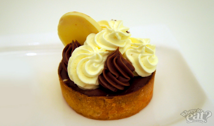 Banana Chocolate Silk Tart