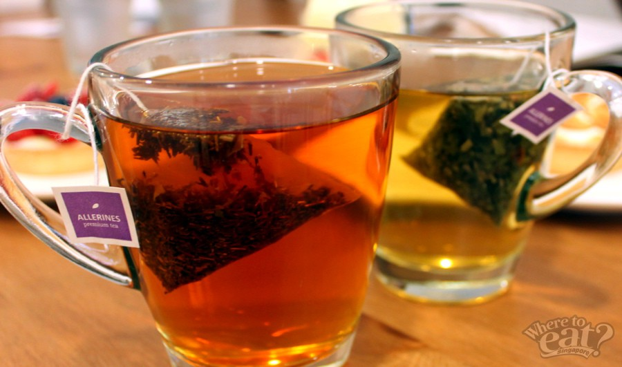 African Sunrise (Rooibos Tea), Sakura (Green Tea)