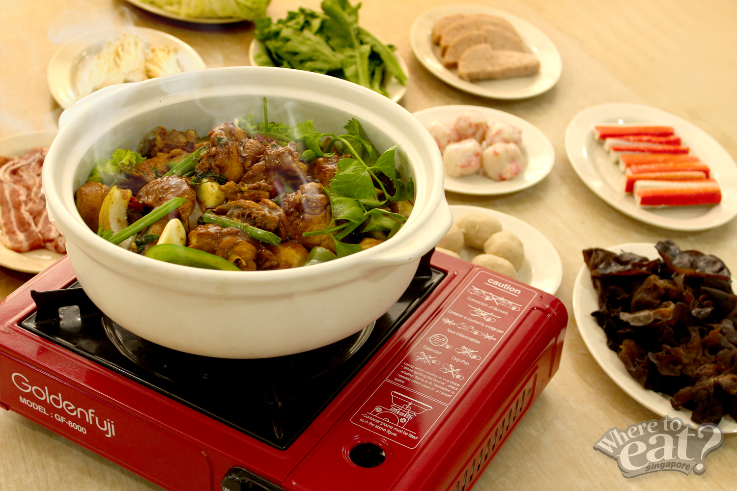 Ah Boy Chicken Pot (Ah Boy 鸡公煲)