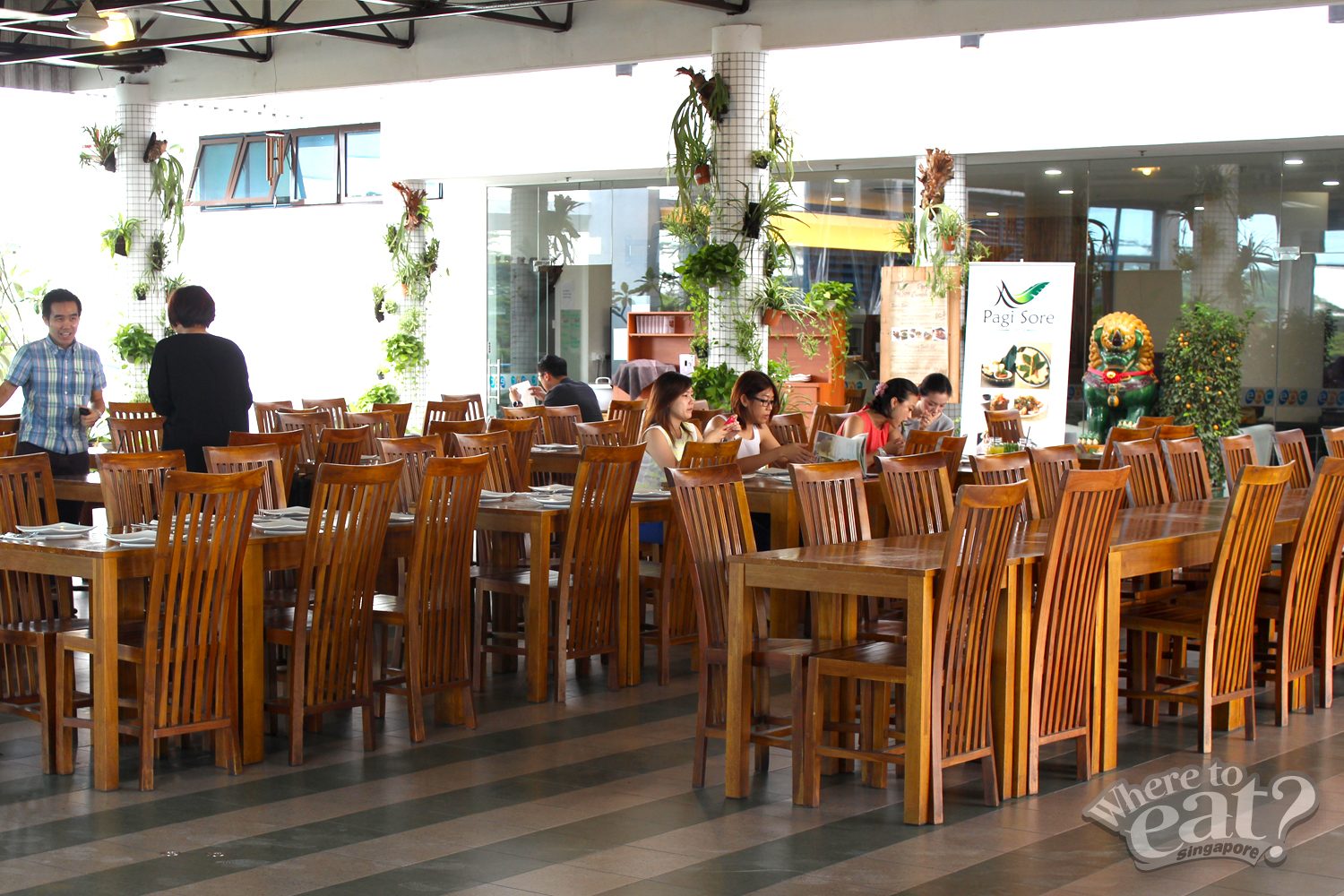 Pagi Sore Indonesian Restaurant in Singapore